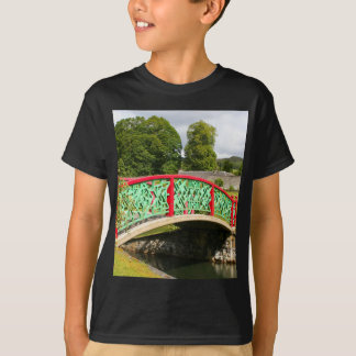 Chinese bridge, gardens, Scotland T-Shirt