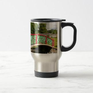 Chinese bridge, gardens, Scotland Travel Mug
