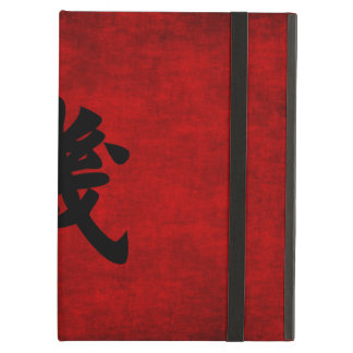 Chinese Calligraphy Symbol for Opportunity in Red Case For iPad Air