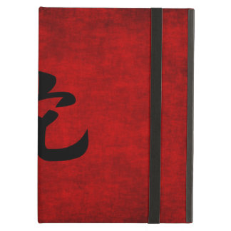 Chinese Calligraphy Symbol for Snake in Red iPad Air Cover