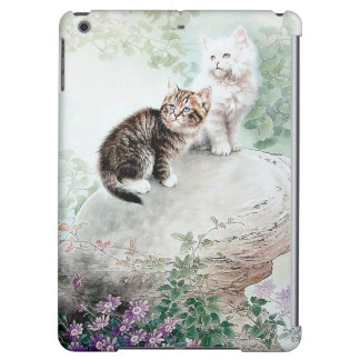 Chinese Cat Art Two Cats Case For iPad Air
