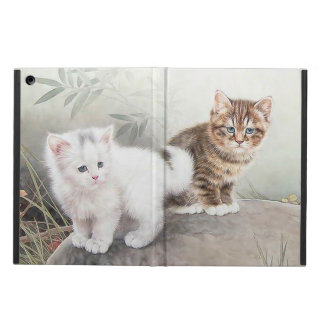 Chinese Cat Art Two Kittens iPad Air Cover