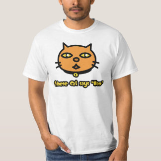 Chinese Cat Says 'Mao' T-Shirt