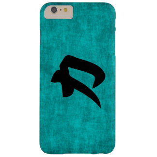 Chinese Character Painting for Strength in Blue Barely There iPhone 6 Plus Case