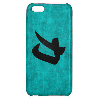 Chinese Character Painting for Strength in Blue iPhone 5C Cases
