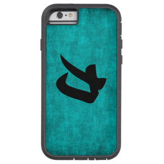 Chinese Character Painting for Strength in Blue Tough Xtreme iPhone 6 Case