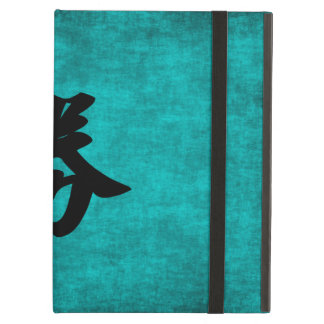 Chinese Character Painting for Success in Blue iPad Air Cover