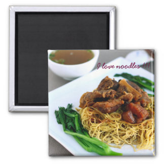Chinese Chow Mein Collection Magnet