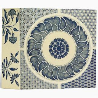 Chinese circle pattern album binder