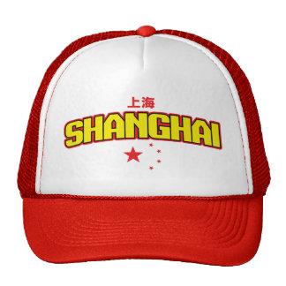"Chinese City Shanghai ""Team"" Trucker Hat"