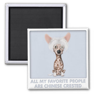 Chinese Crested 1 Favorite Magnet
