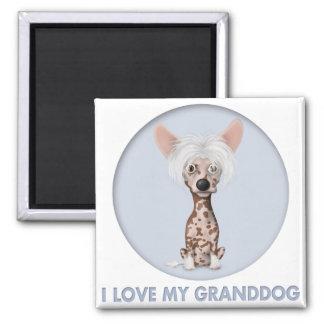 Chinese Crested 1 Granddog Magnet
