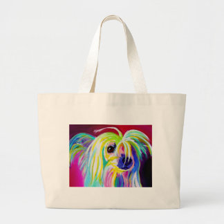 Chinese Crested #2 Large Tote Bag