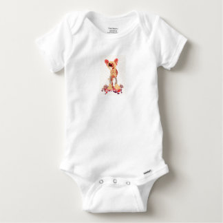 Chinese Crested Baby Onesie