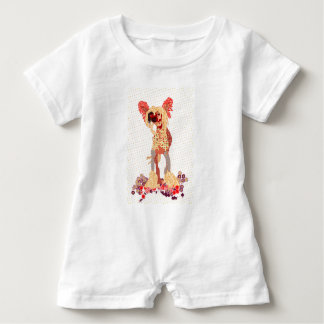 Chinese Crested Baby Romper
