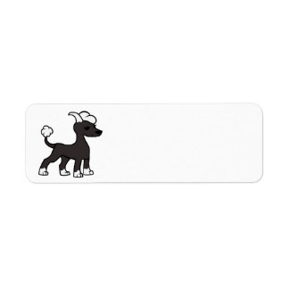 chinese crested cartoon.png return address label