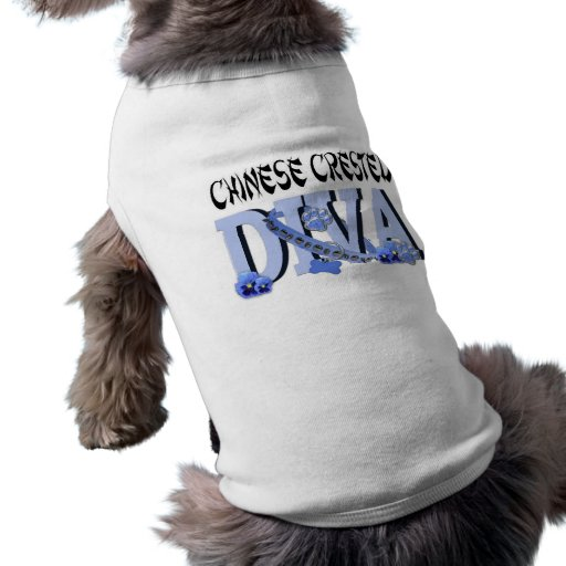 Chinese Crested DIVA Dog Tee
