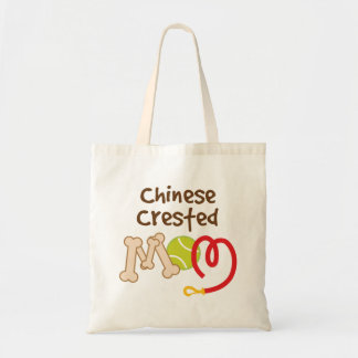 Chinese Crested Dog Breed Mom Gift Tote Bag