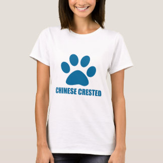 CHINESE CRESTED DOG DESIGNS T-Shirt