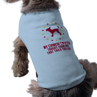 Chinese Crested Doggie Tee Shirt