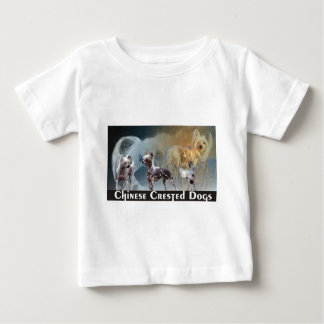 Chinese Crested Dogs Baby T-Shirt