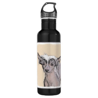 Chinese Crested (Hairless) 2 710 Ml Water Bottle
