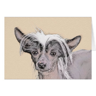 Chinese Crested (Hairless) 2 Card