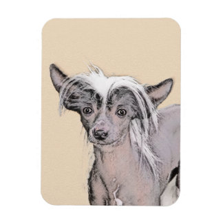 Chinese Crested (Hairless) 2 Magnet