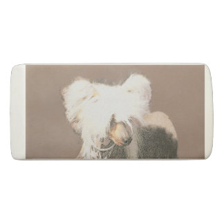 Chinese Crested (Hairless) Eraser