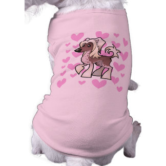 Chinese Crested Love (hairless) Pet Shirt