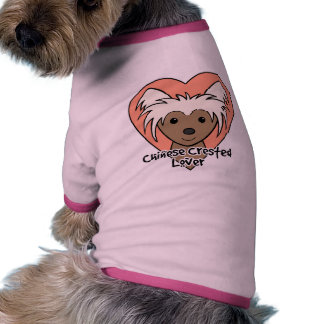 Chinese Crested Lover Pet Clothing