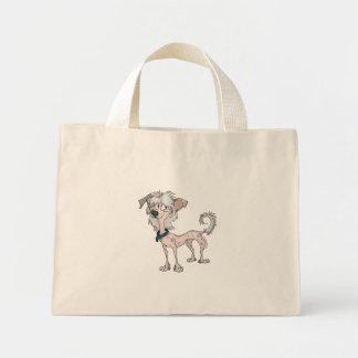 Chinese Crested Mini Tote Bag