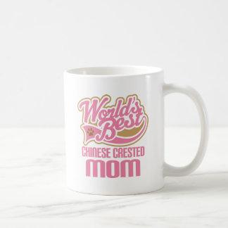 Chinese Crested Mom Dog Breed Gift Coffee Mug