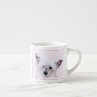 Chinese Crested (Powderpuff) Espresso Cup