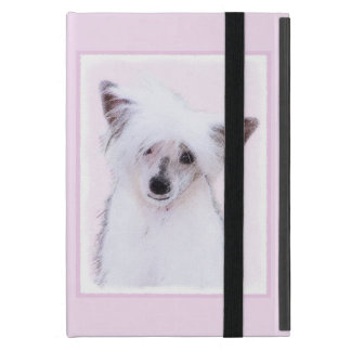 Chinese Crested Powderpuff Painting - Dog Art Case For iPad Mini