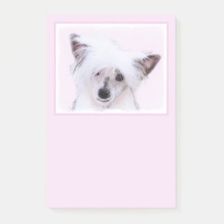 Chinese Crested (Powderpuff) Post-it Notes