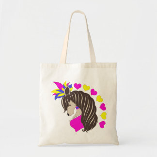 Chinese Crested Showgirl Tote Bag