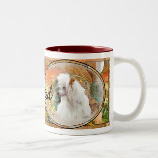 Chinese Crested Two-Tone Coffee Mug