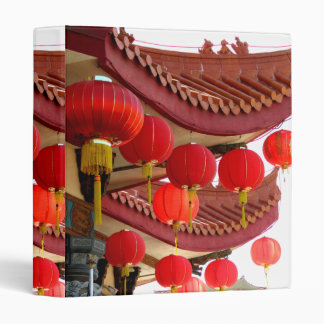 Chinese Decorations Vinyl Binders
