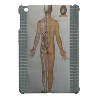 Chinese Doctor Back body acupuncture point map art iPad Mini Cases
