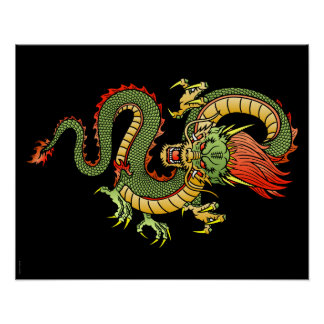 Chinese Dragon 09 Poster