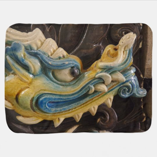Chinese Dragon Baby Blanket