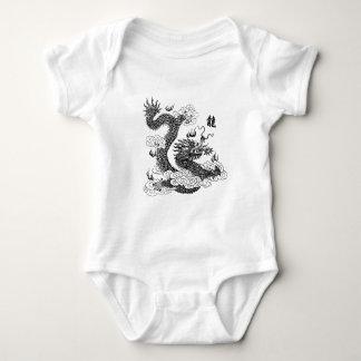 Chinese Dragon Baby Bodysuit