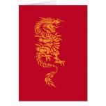 Chinese Dragon Birthday card