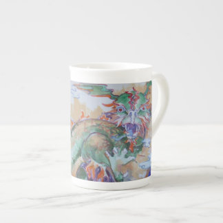 Chinese Dragon Bone China Mug
