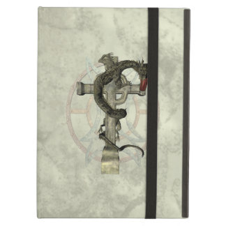 Chinese Dragon & Celtic Cross iPad Air Covers