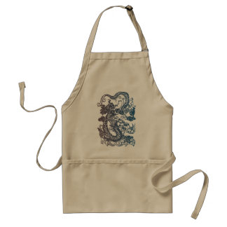 Chinese Dragon Chef's Apron