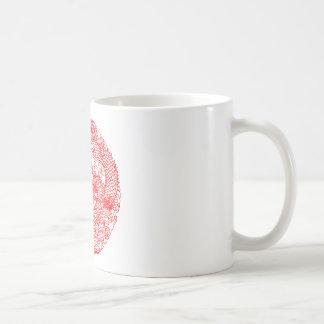 Chinese Dragon Classic White Coffee Mug