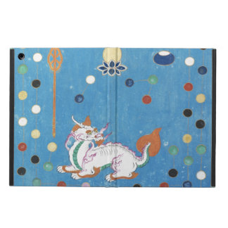 Chinese Dragon Colorful Dots Vintage Watercolor iPad Air Cases