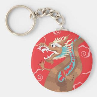 Chinese Dragon Design Keychain